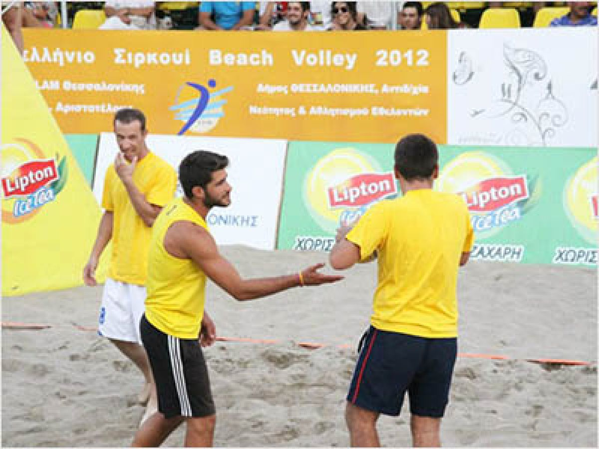 TO FYC ΧΟΡΗΓΟΣ ΣΤΟ BEACH VOLLEY TOURNAMENT